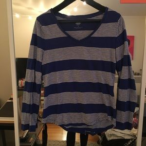 Striped Blue Long sleeve